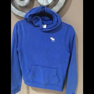 Boys blue hoodie by Abercrombie kids size large